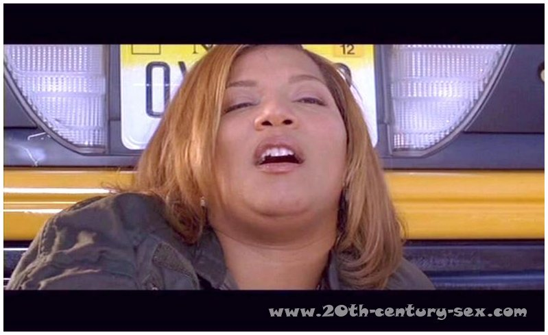 Queen Latifah Caught Nude