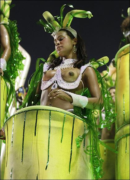 Carnival nude brazilian Rio carnival