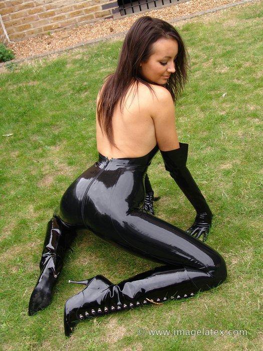 Sexy Latex Catsuit Women
