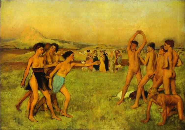 Spartan Girls Challenging Boys