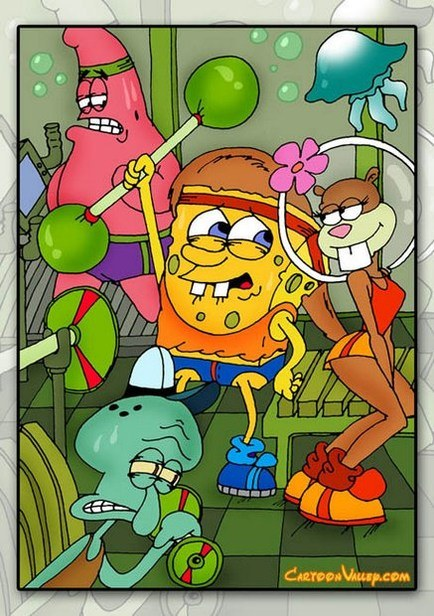 Porn spongebob sandy Spongebob Sandy