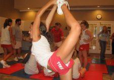 Young Teen Cheerleader Candid