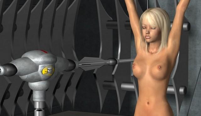 3d Toon Girl Sexy