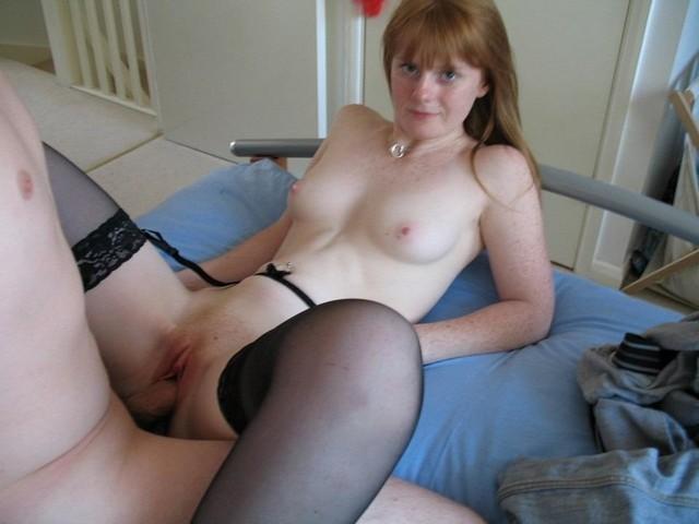 Amateur Redhead Freckles Slut