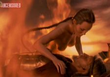 Angelina Jolie Beowulf Nude Scene