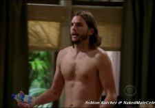 Ashton Kutcher On Two And A Half Men Naked