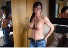 Awesome Brunette British Milf