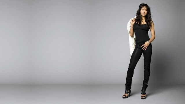Beautiful Model In Cool Pose
