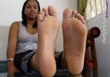Black Girl Feet Soles