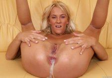 Blonde Dp Anal Creampie