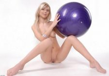 Blonde Fashion Models Nude