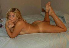 Blonde Milf Nude In Bed