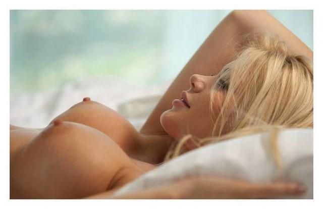 Blonde Perky Tits