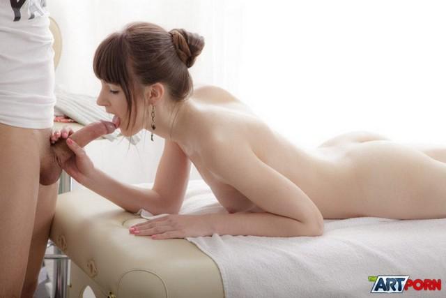 Boner On Massage Table