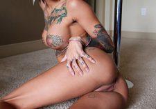 Hardcore pornstar Bonnie Rotten nude